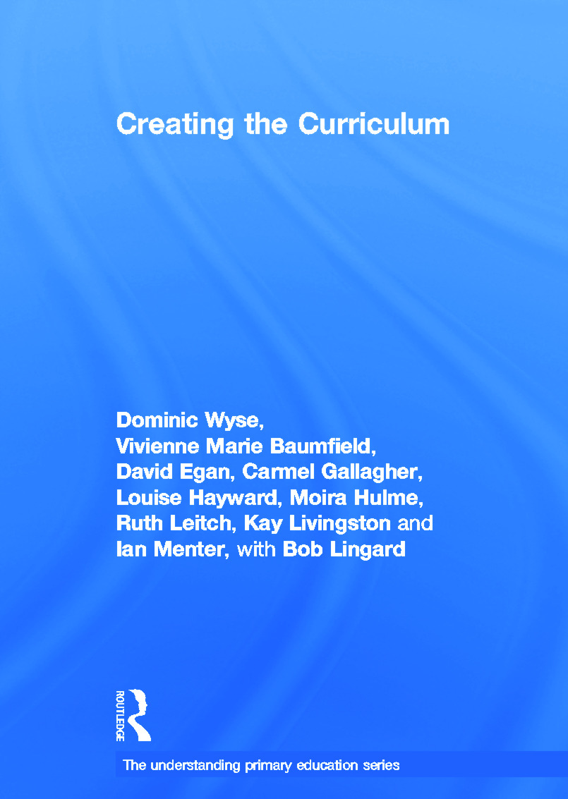 Creating the Curriculum book cover