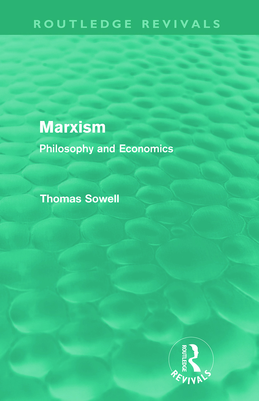 Marxism (Routledge Revivals): Philosophy and Economics (Paperback) book cover