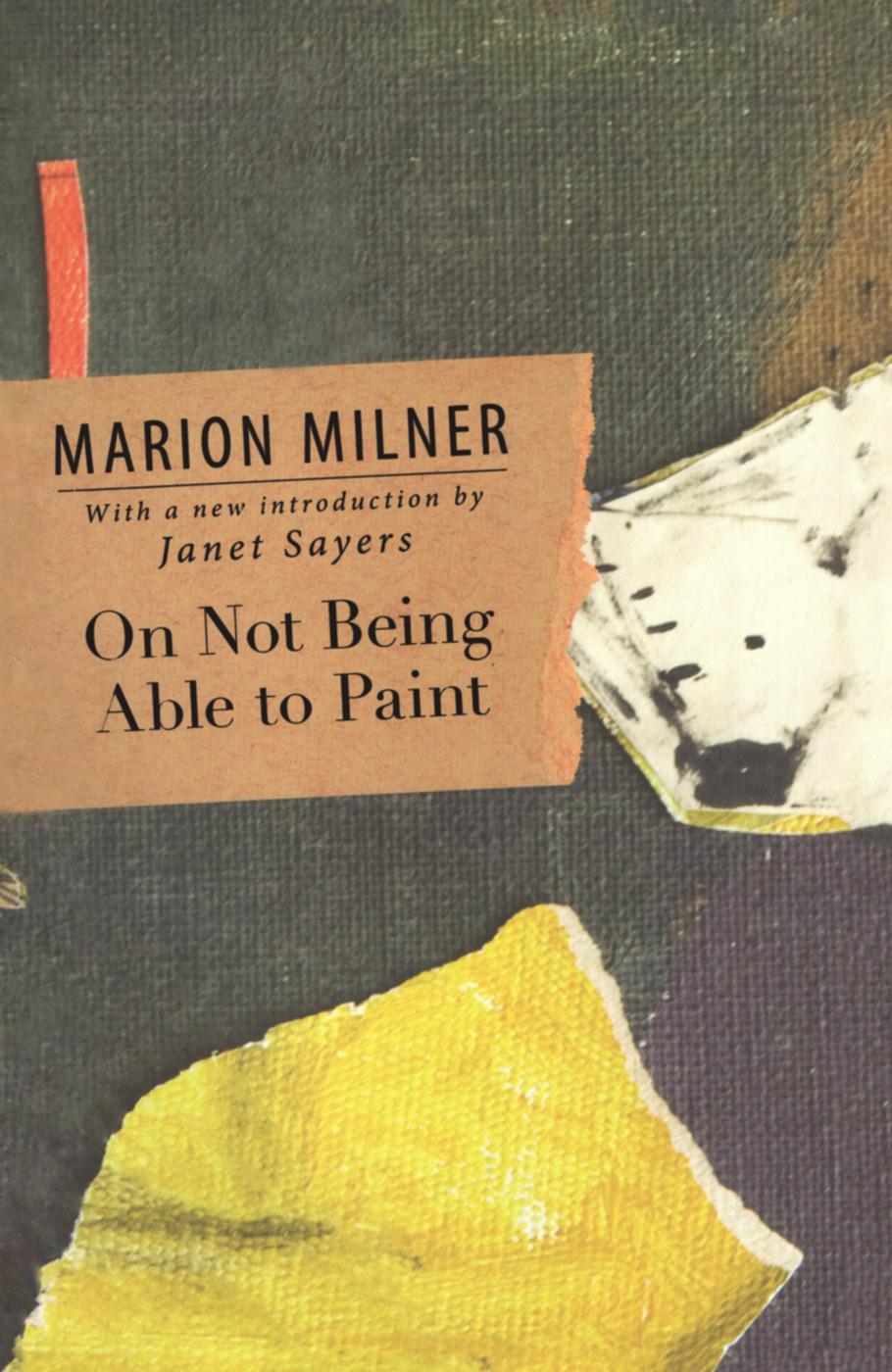 Marion Milner book cover