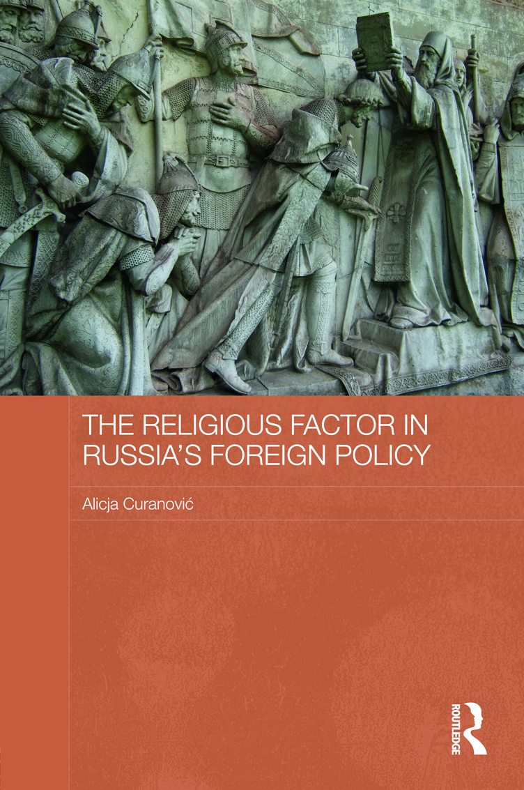 The Religious Factor in Russia's Foreign Policy (Hardback) book cover