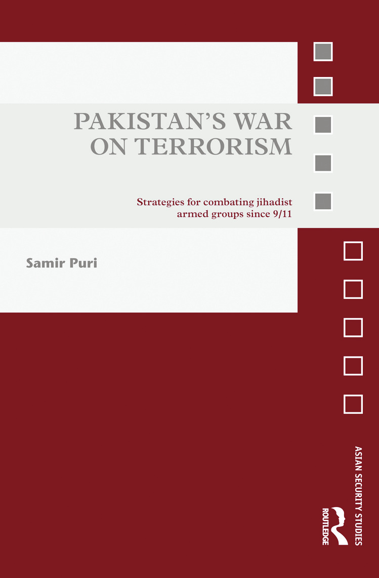 Pakistan's War on Terrorism: Strategies for Combating Jihadist Armed Groups since 9/11 (Hardback) book cover