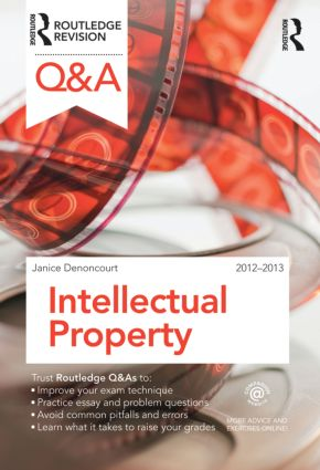 Q&A Intellectual Property Law: 3rd Edition (Paperback) book cover