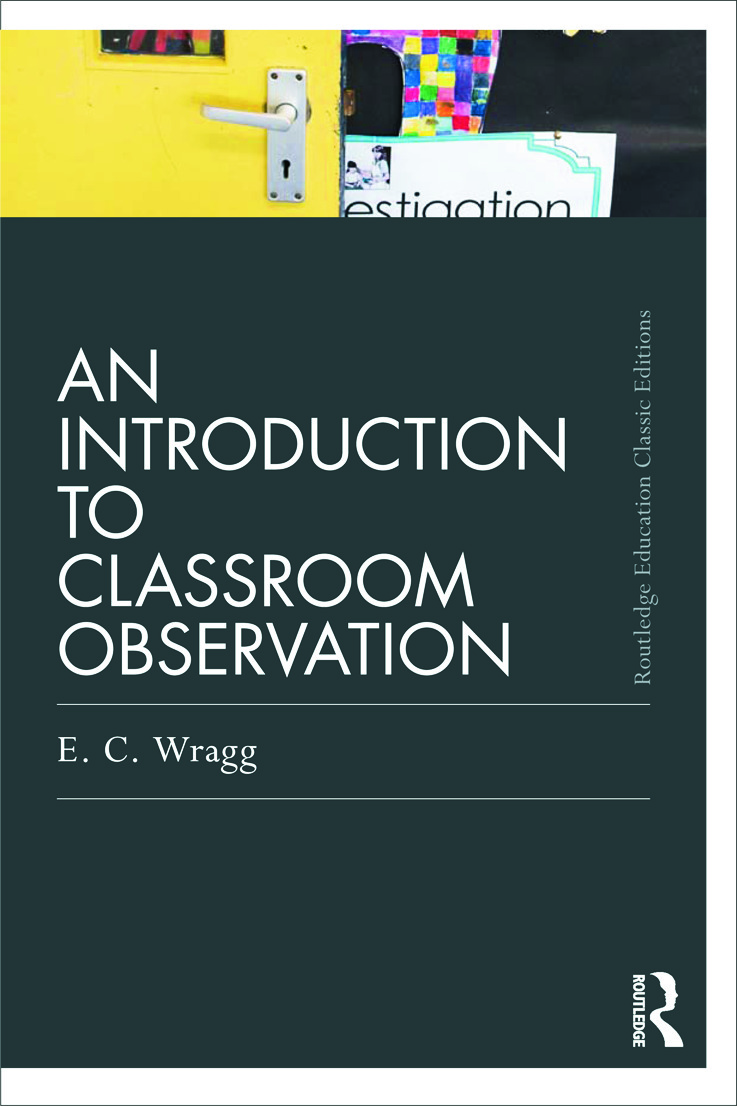 An Introduction to Classroom Observation (Classic Edition) (Paperback) book cover