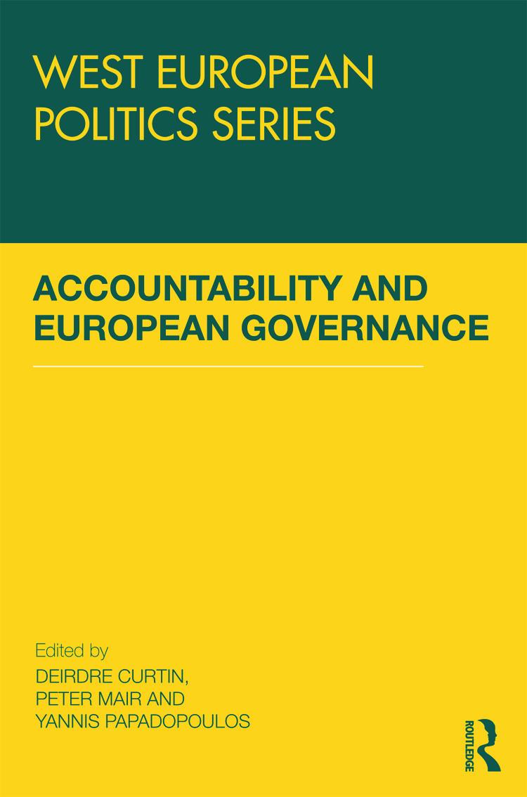 Accountability and European Governance (Hardback) book cover