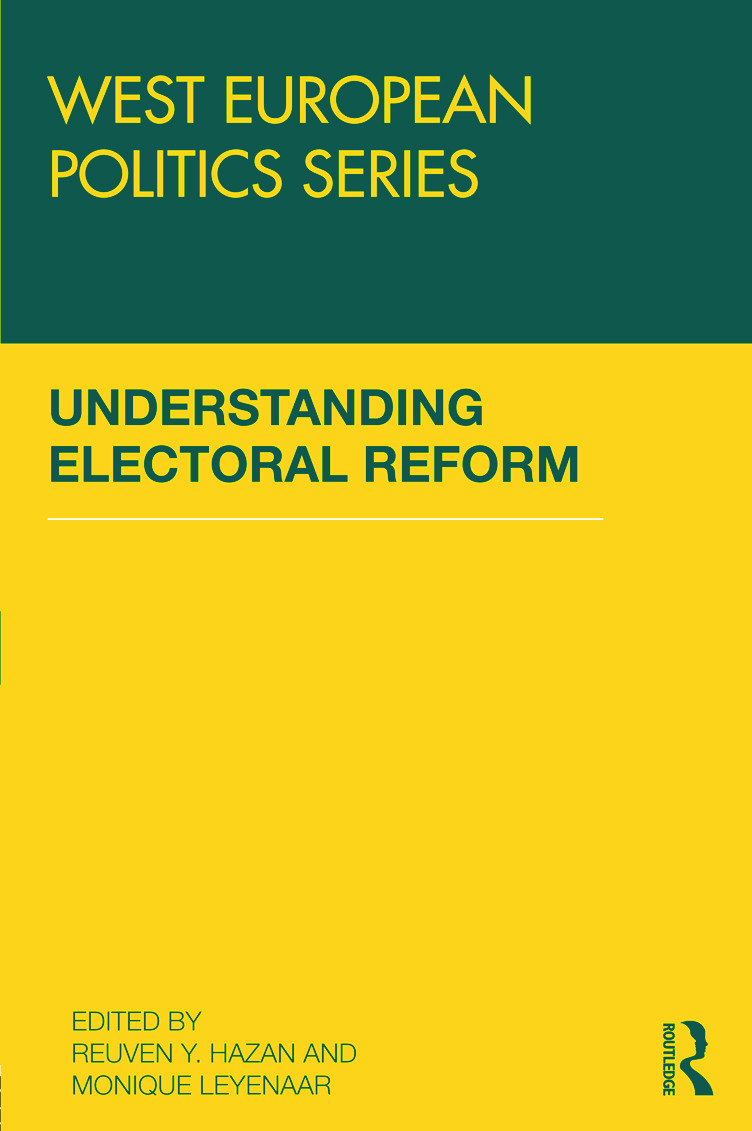 Understanding Electoral Reform book cover