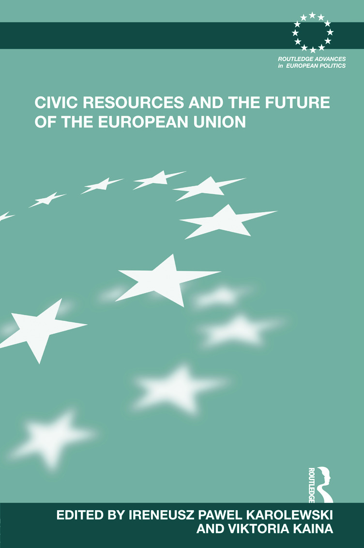 Civic Resources and the Future of the European Union (Hardback) book cover