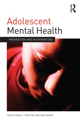Adolescent Mental Health: Prevention and intervention (Paperback) book cover