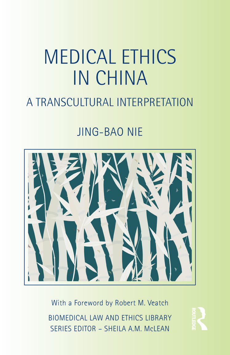 Medical Ethics in China: A Transcultural Interpretation (Hardback) book cover