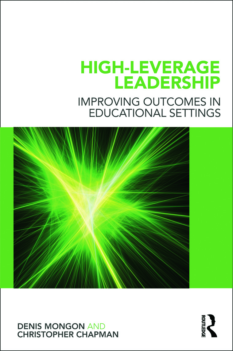 High-Leverage Leadership: Improving Outcomes in Educational Settings (Paperback) book cover