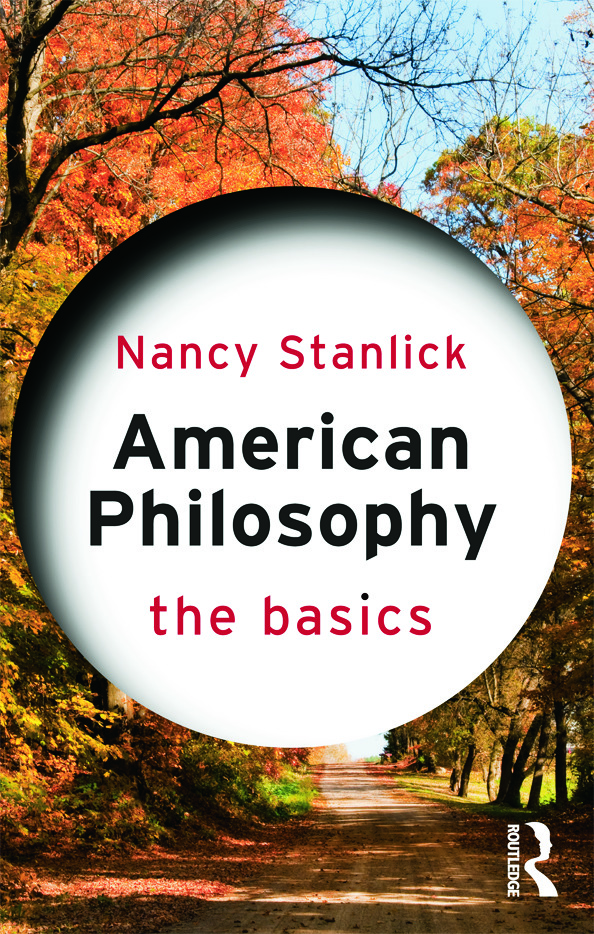 American Philosophy: The Basics (Paperback) book cover