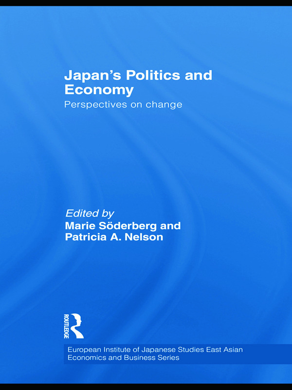 Japan's Politics and Economy: Perspectives on change book cover