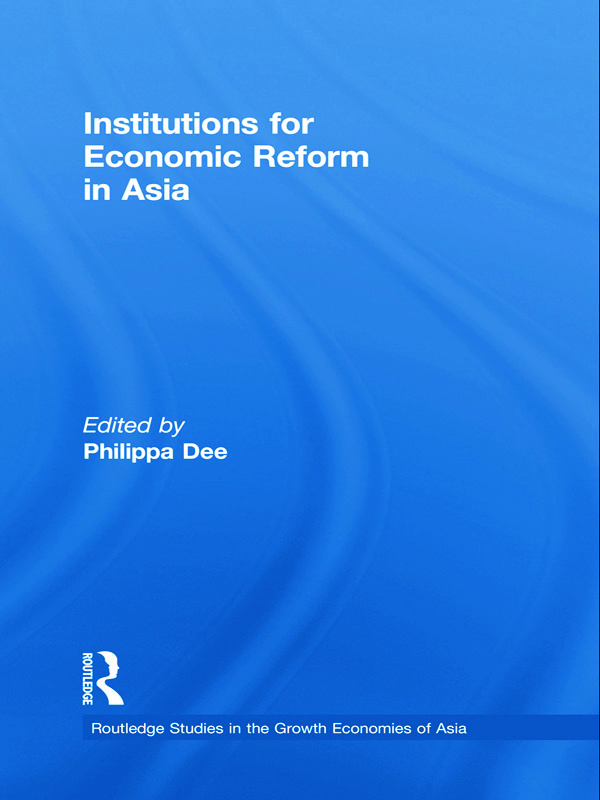 Institutions for Economic Reform in Asia (Paperback) book cover