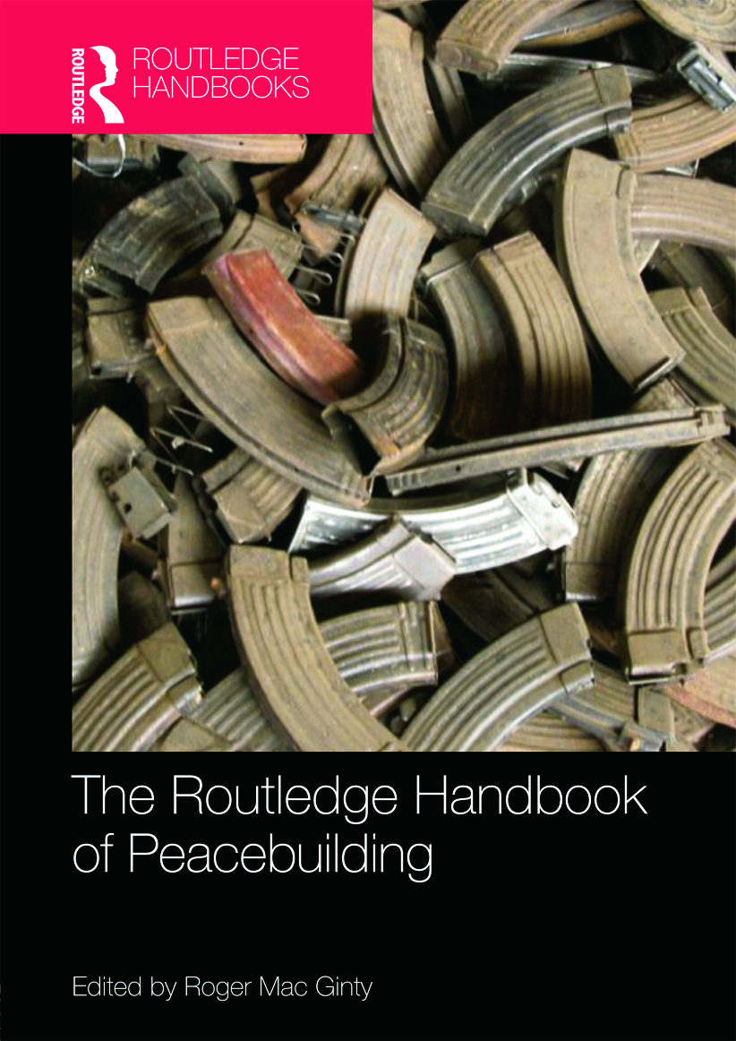 Routledge Handbook of Peacebuilding book cover