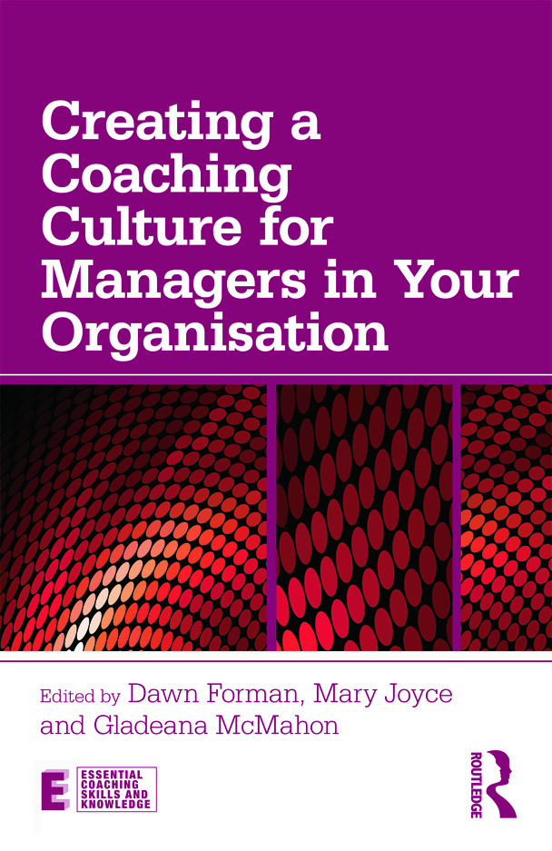 Creating a Coaching Culture for Managers in Your Organisation: 1st Edition (Paperback) book cover