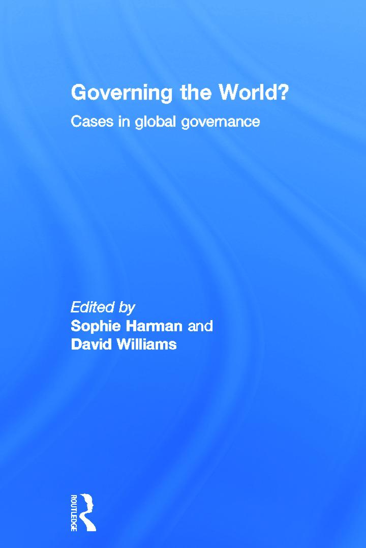 Global financial governance: taming financial innovation