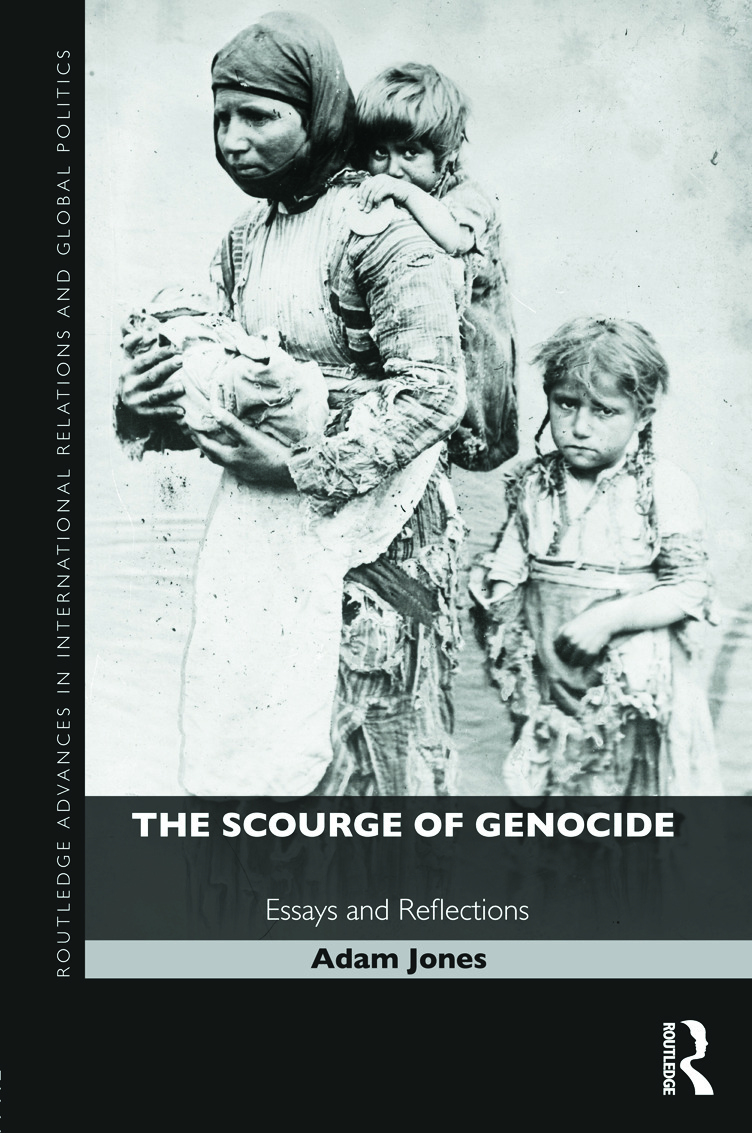The Scourge of Genocide: Essays and Reflections (Hardback) book cover