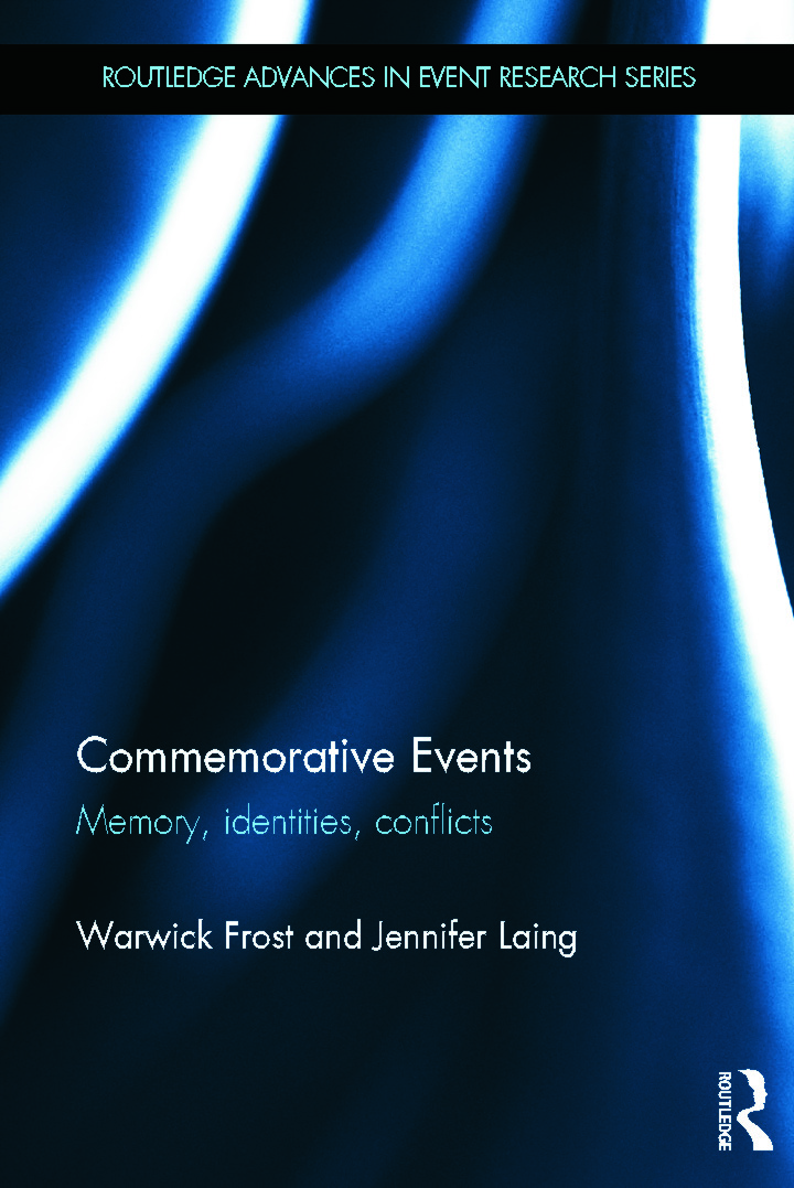 Commemorative Events: Memory, Identities, Conflict (Hardback) book cover