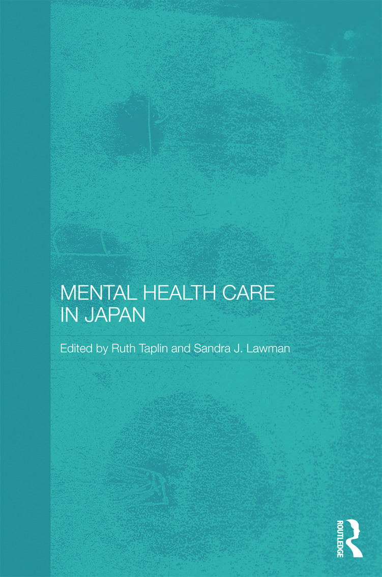 Mental Health Care in Japan book cover