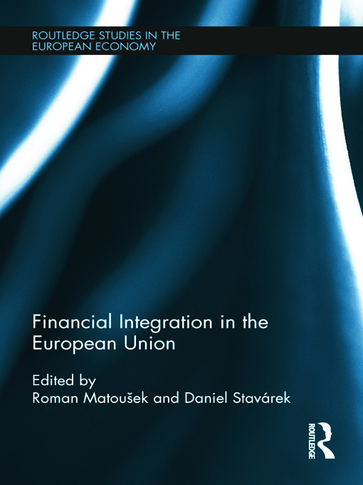 Financial Integration in the European Union (Hardback) book cover