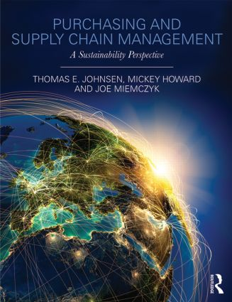 Purchasing and Supply Chain Management: A Sustainability Perspective (Paperback) book cover