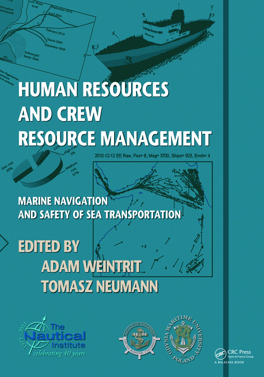 Human Resources and Crew Resource Management: Marine Navigation and Safety of Sea Transportation, 1st Edition (Paperback) book cover