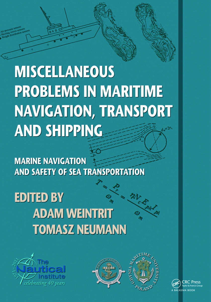 Miscellaneous Problems in Maritime Navigation, Transport and Shipping: Marine Navigation and Safety of Sea Transportation (Paperback) book cover