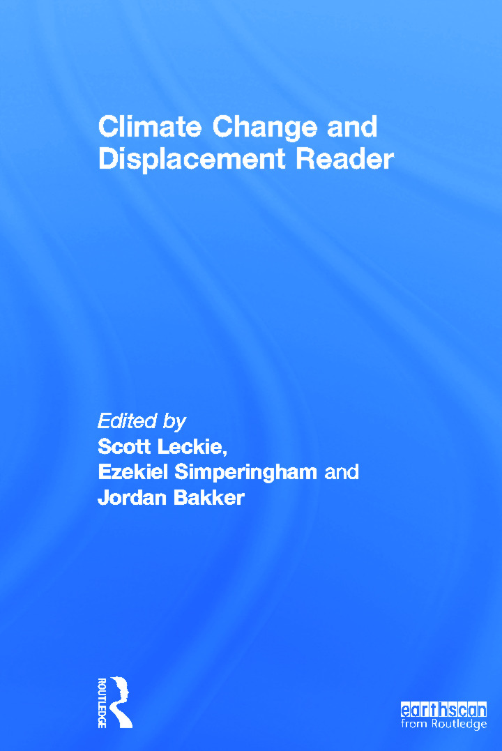 Climate Change and Displacement Reader (Hardback) book cover