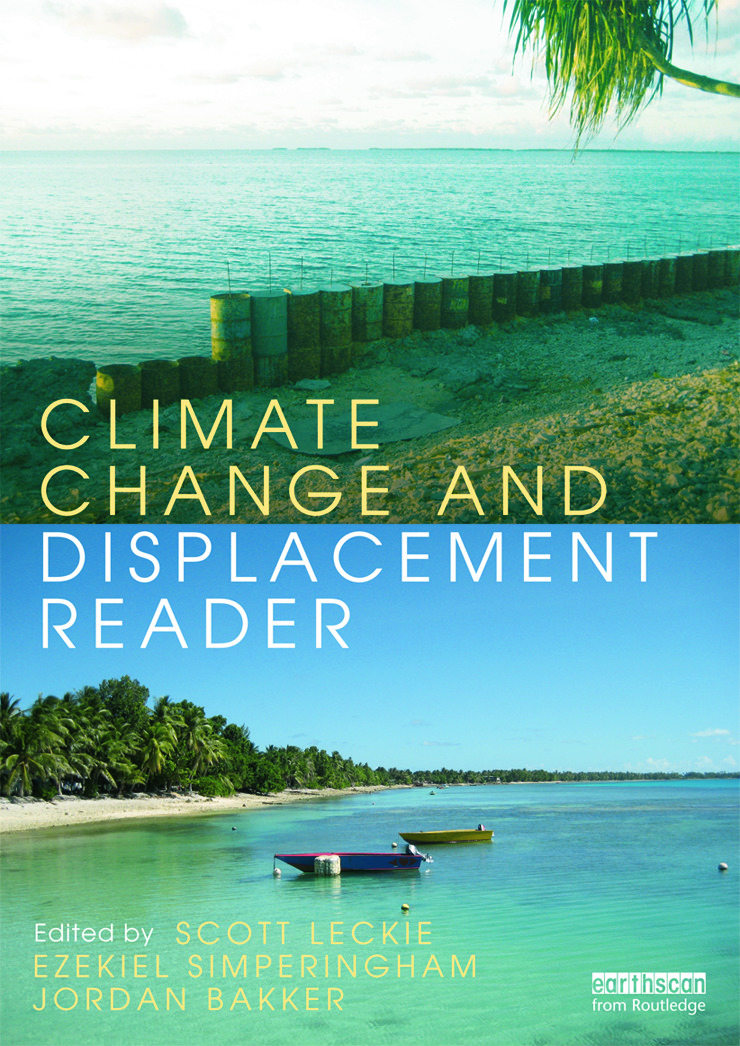 Climate Change and Displacement Reader (Paperback) book cover