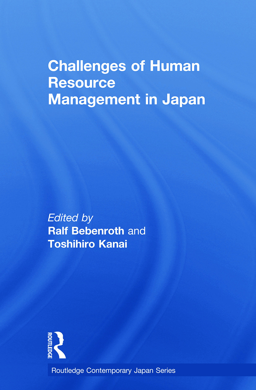 Challenges of Human Resource Management in Japan (Paperback) book cover