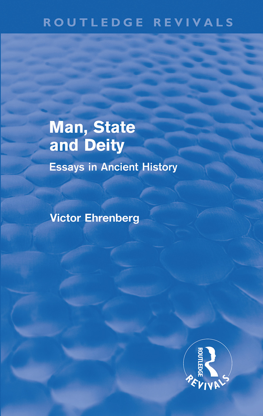 Man, State and Deity: Essays in Ancient History (Hardback) book cover