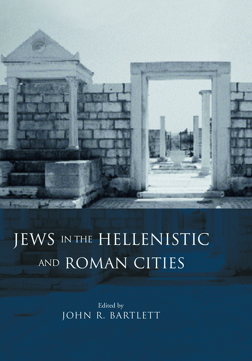 Jews in the Hellenistic and Roman Cities (Paperback) book cover