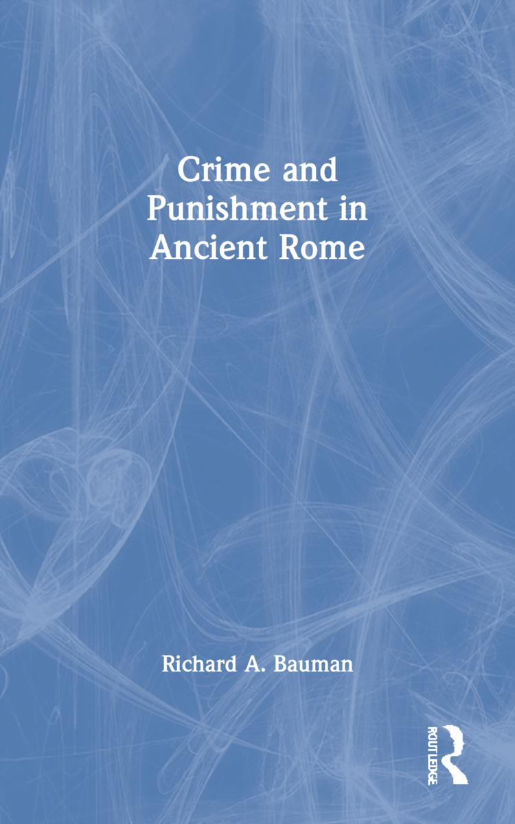 Crime and Punishment in Ancient Rome (Paperback) book cover