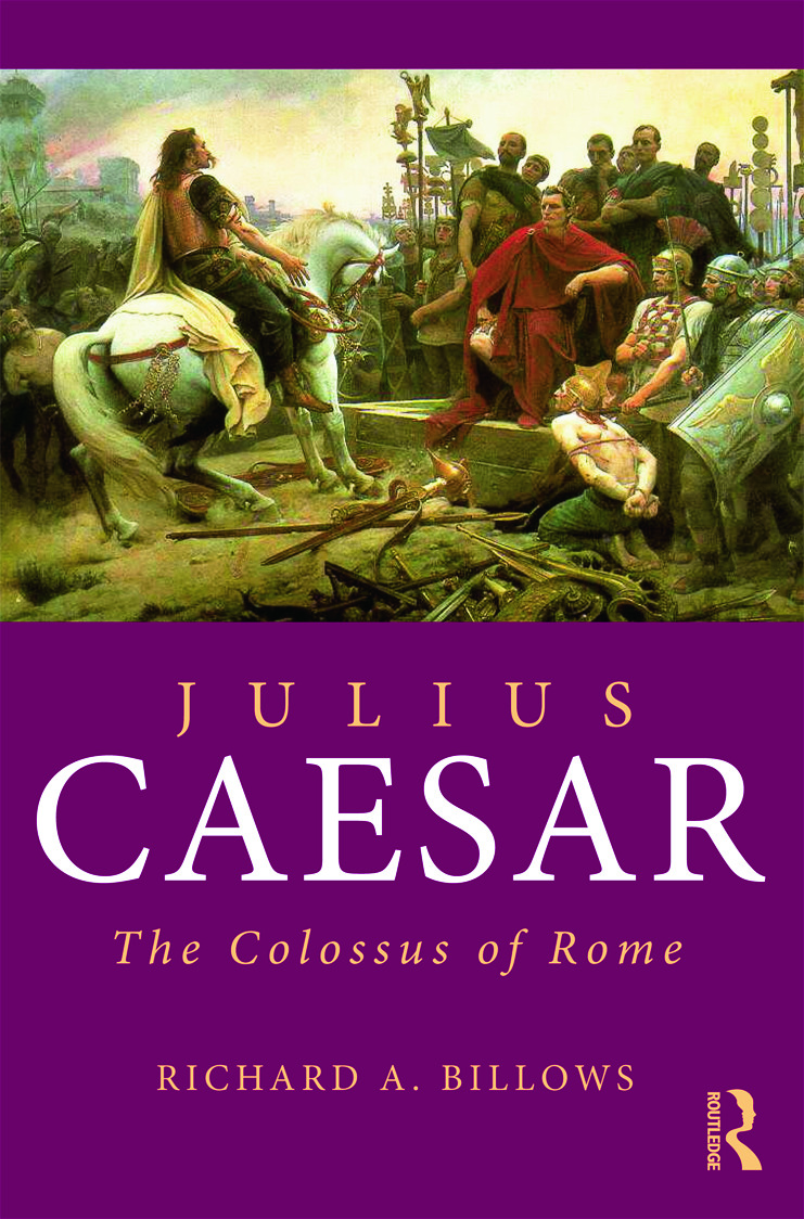 Julius Caesar: The Colossus of Rome, 1st Edition (Paperback) book cover