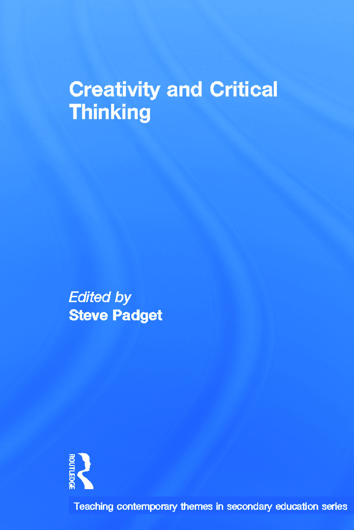 Creativity and Critical Thinking book cover