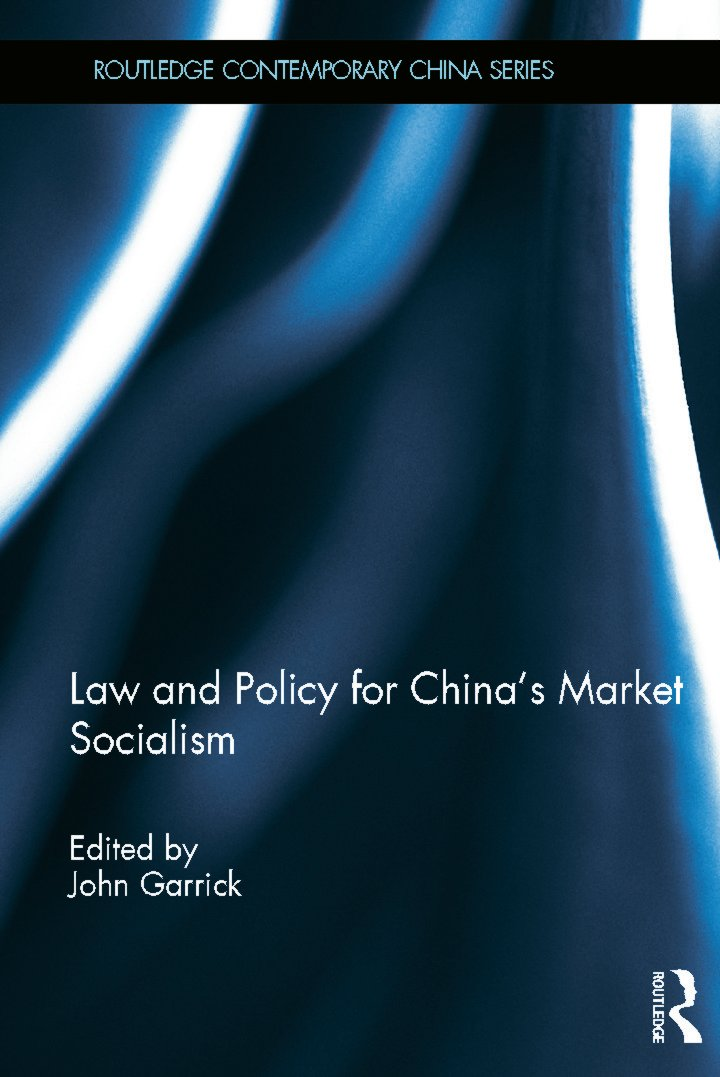 Law and Policy for China's Market Socialism (Hardback) book cover