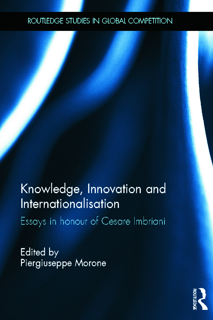 Knowledge, Innovation and Internationalisation: Essays in Honour of Cesare Imbriani (Hardback) book cover