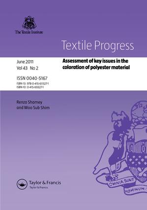 Assessment of Key Issues in the Coloration of Polyester Material book cover
