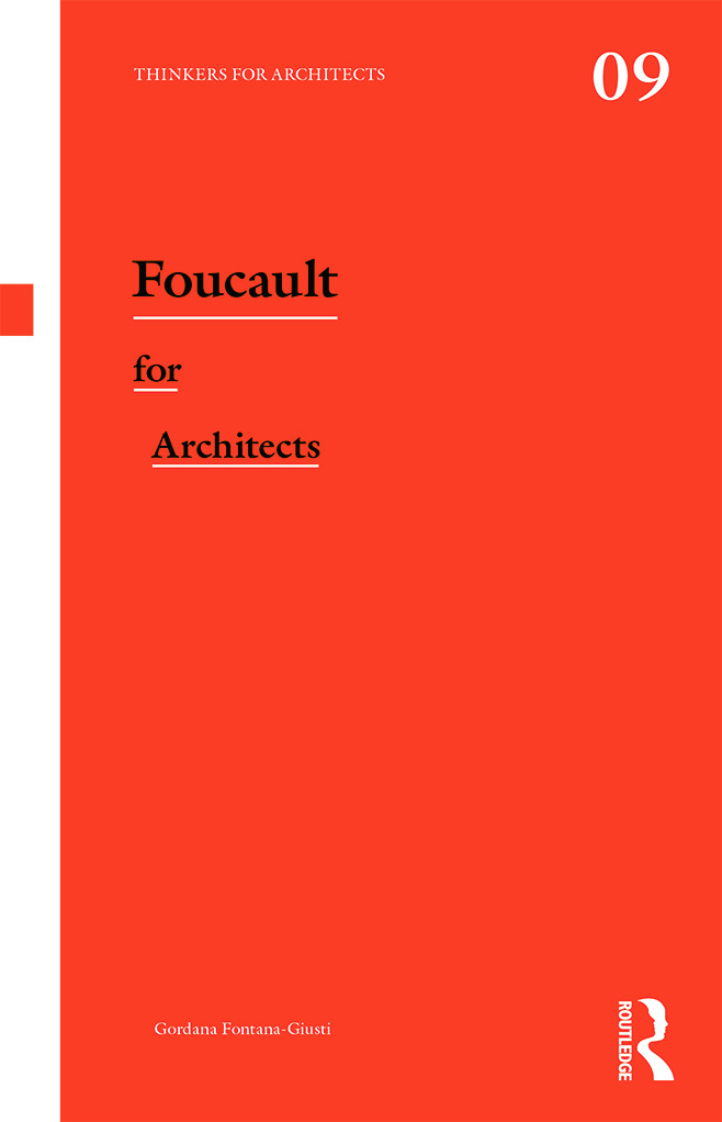 Foucault for Architects (Paperback) book cover