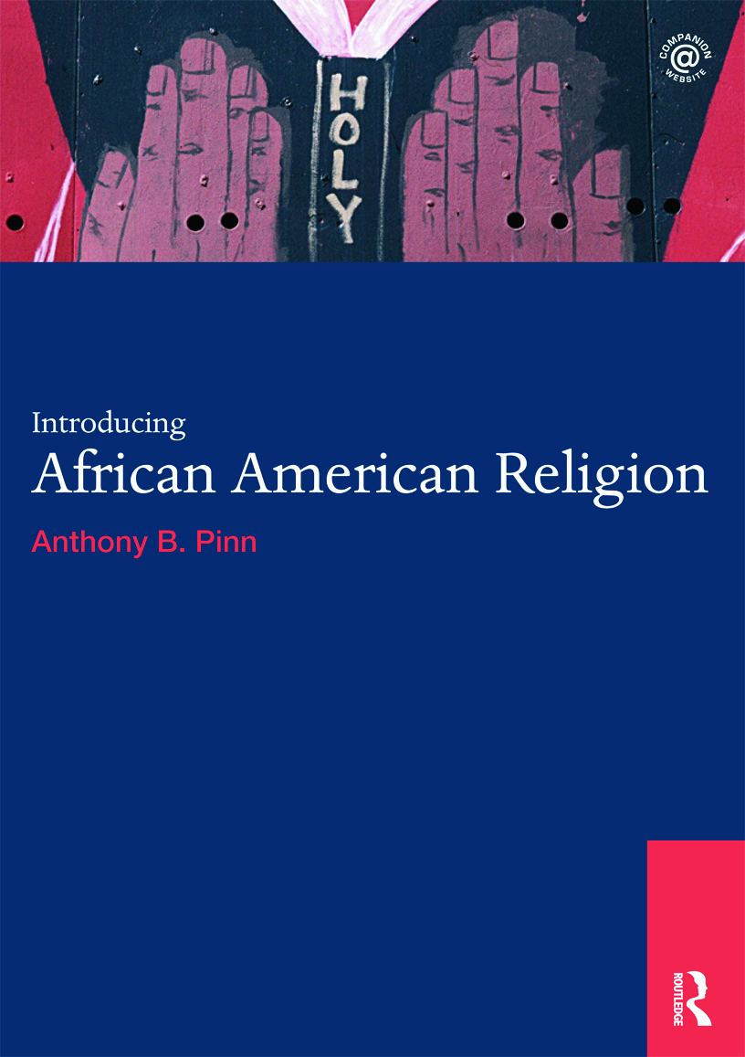 Introducing African American Religion book cover