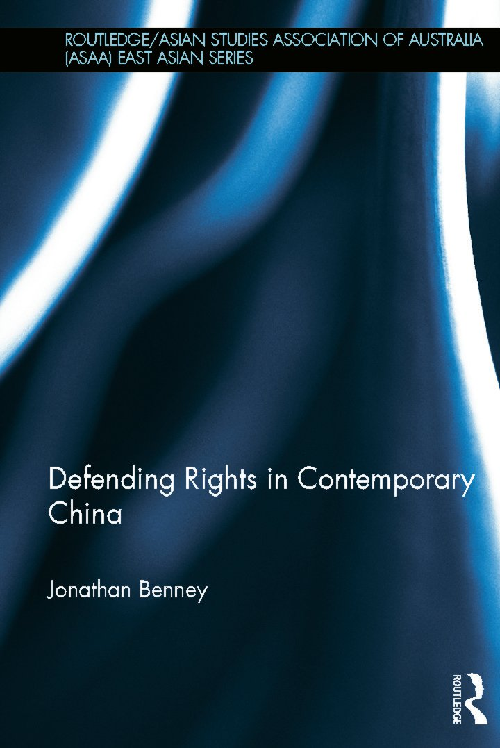 Defending Rights in Contemporary China (Hardback) book cover