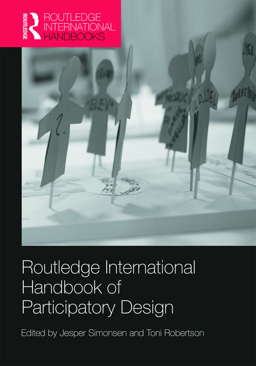 Routledge International Handbook of Participatory Design book cover