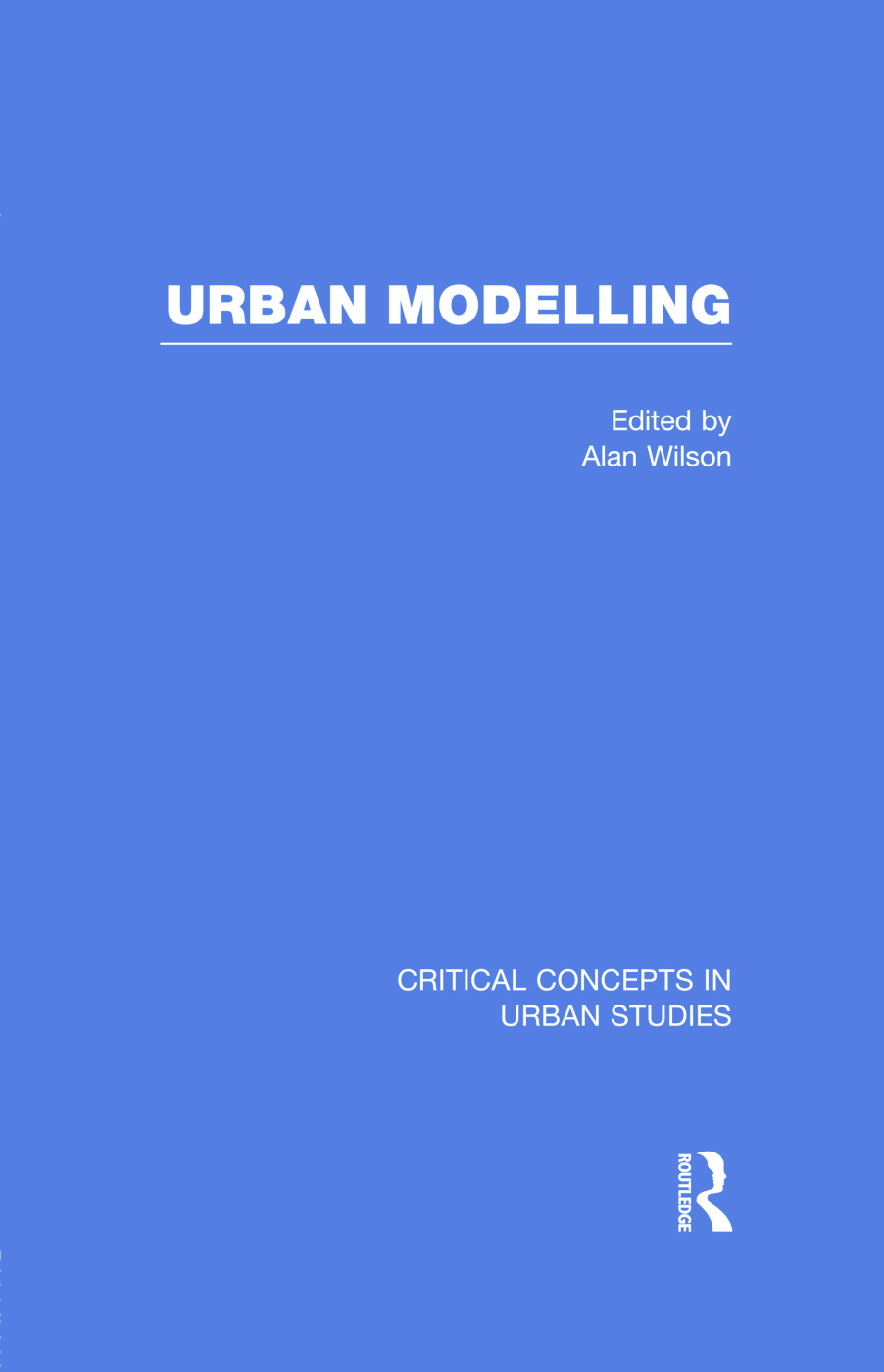 Urban Modelling (Hardback) book cover