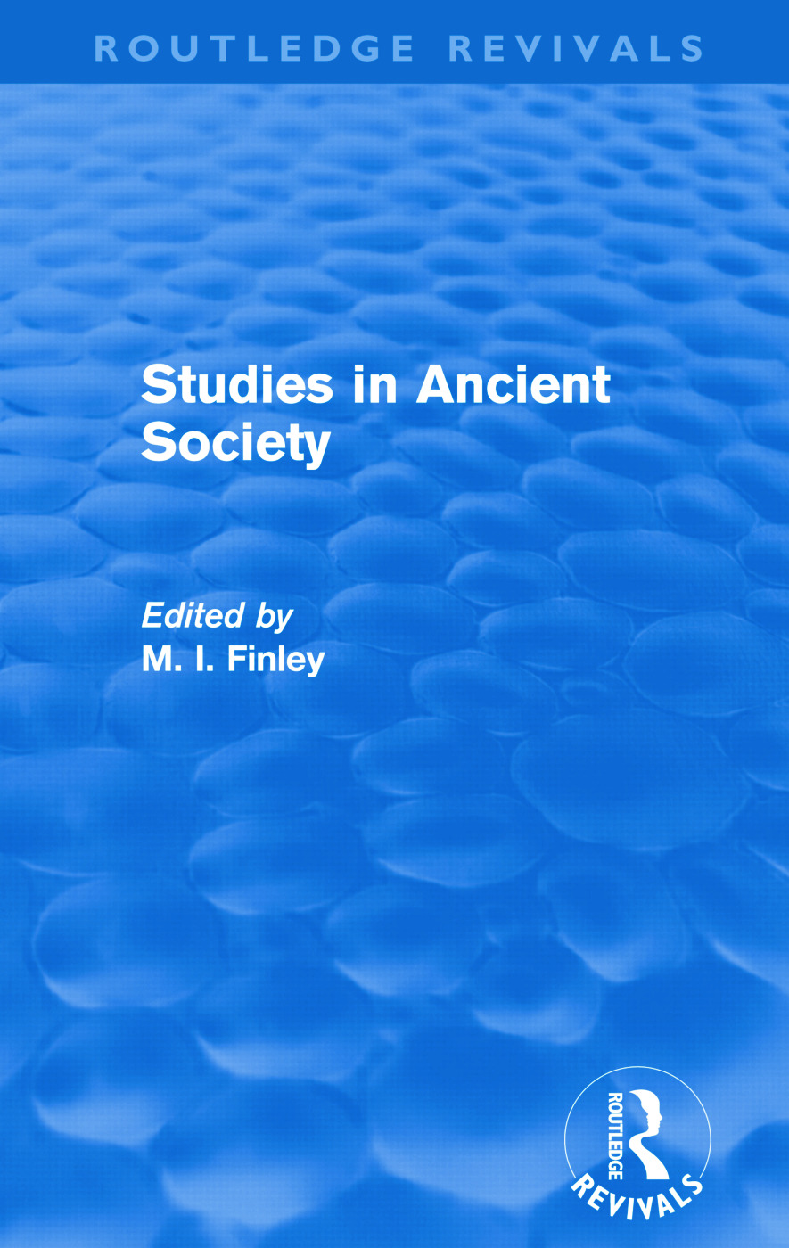 Studies in Ancient Society (Routledge Revivals) (Paperback) book cover