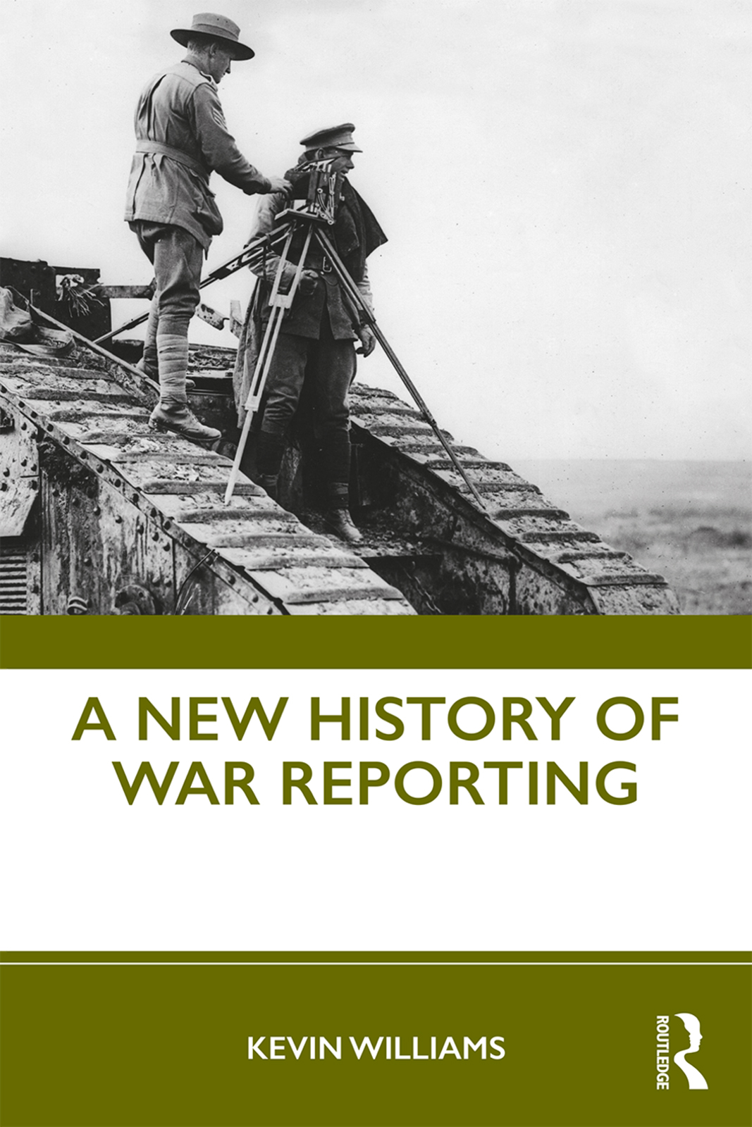 A New History of War Reporting book cover