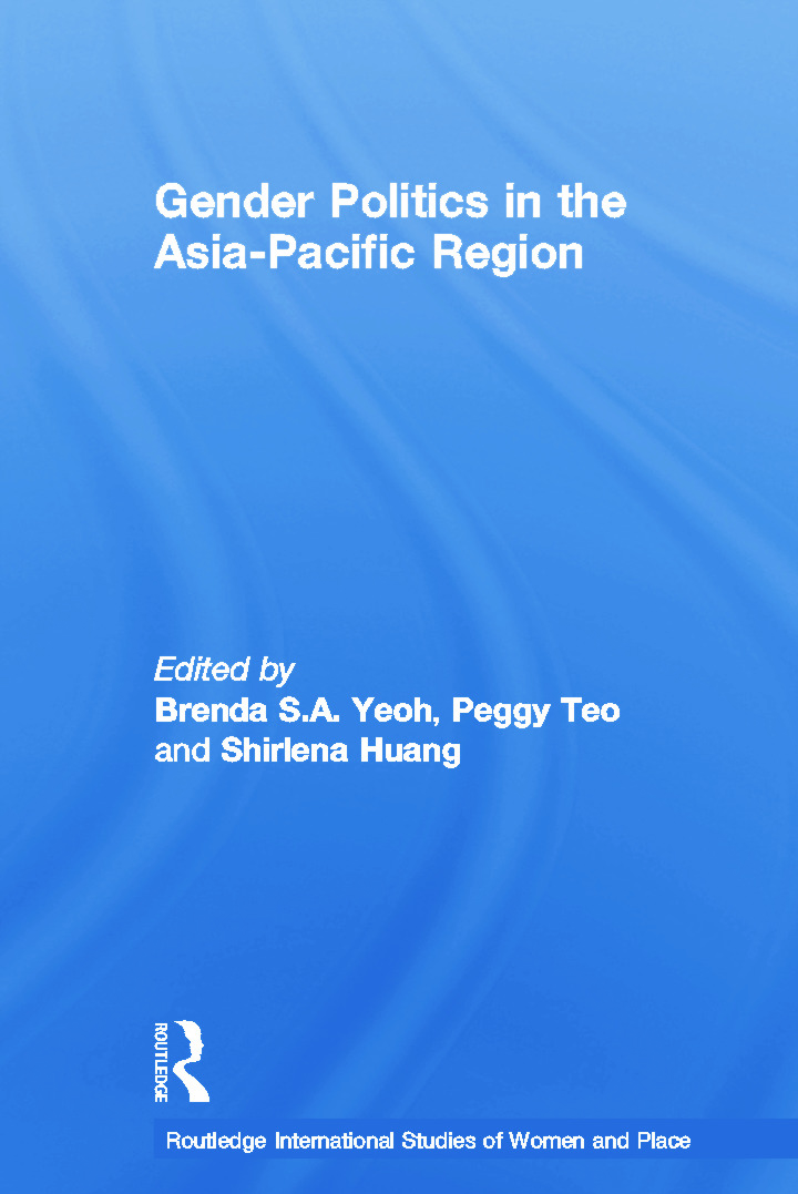 Gender Politics in the Asia-Pacific Region book cover