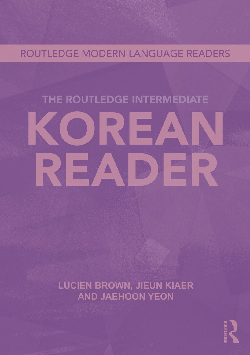 The Routledge Intermediate Korean Reader book cover