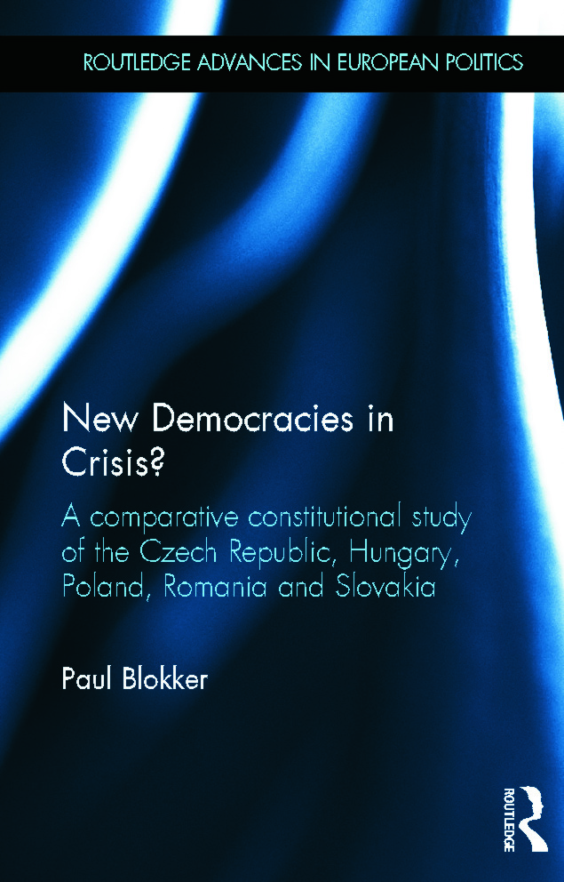 New Democracies in Crisis?: A Comparative Constitutional Study of the Czech Republic, Hungary, Poland, Romania and Slovakia (Hardback) book cover