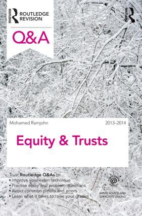 Q&A Equity & Trusts 2013-2014