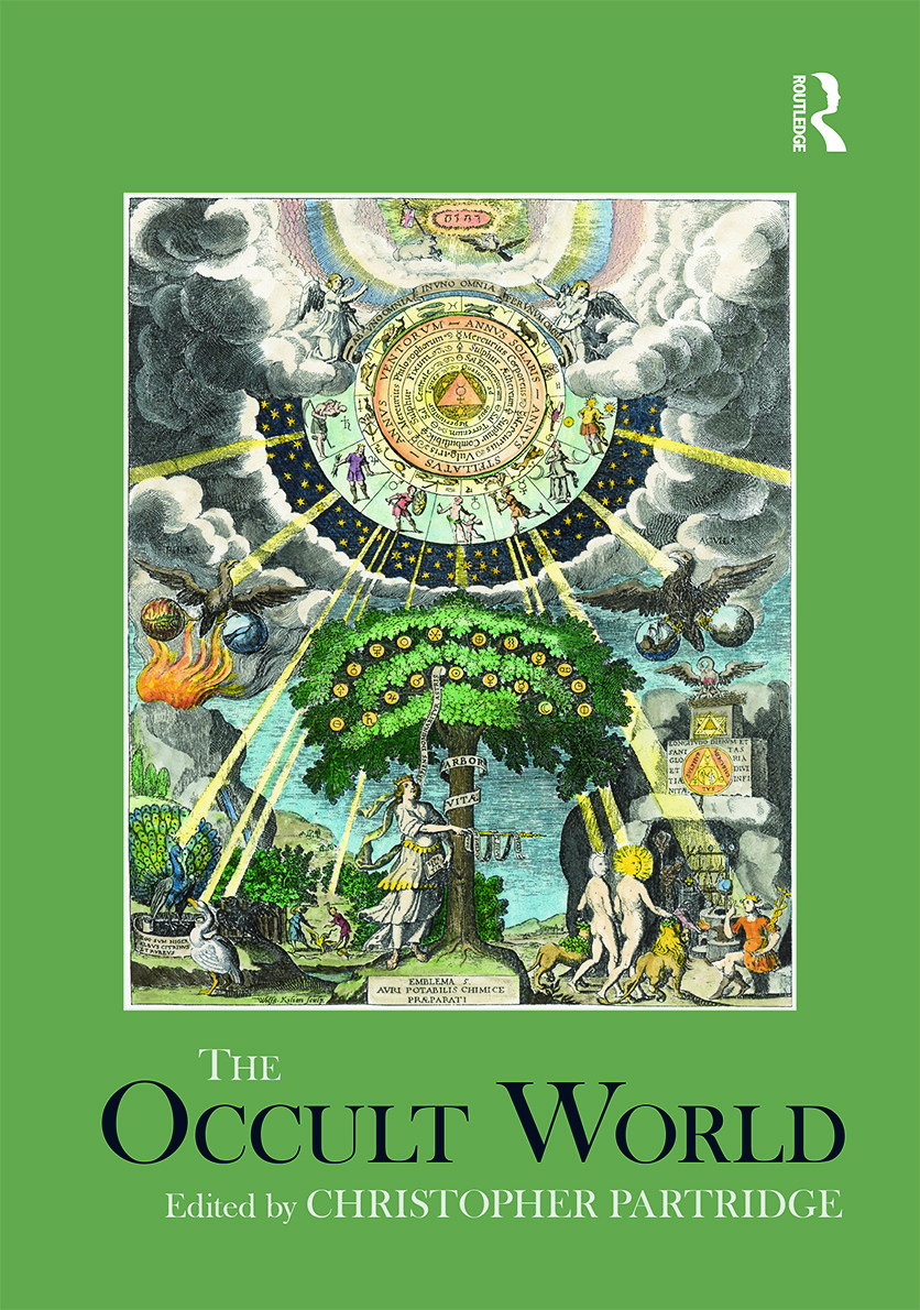 The Occult World (Hardback) book cover