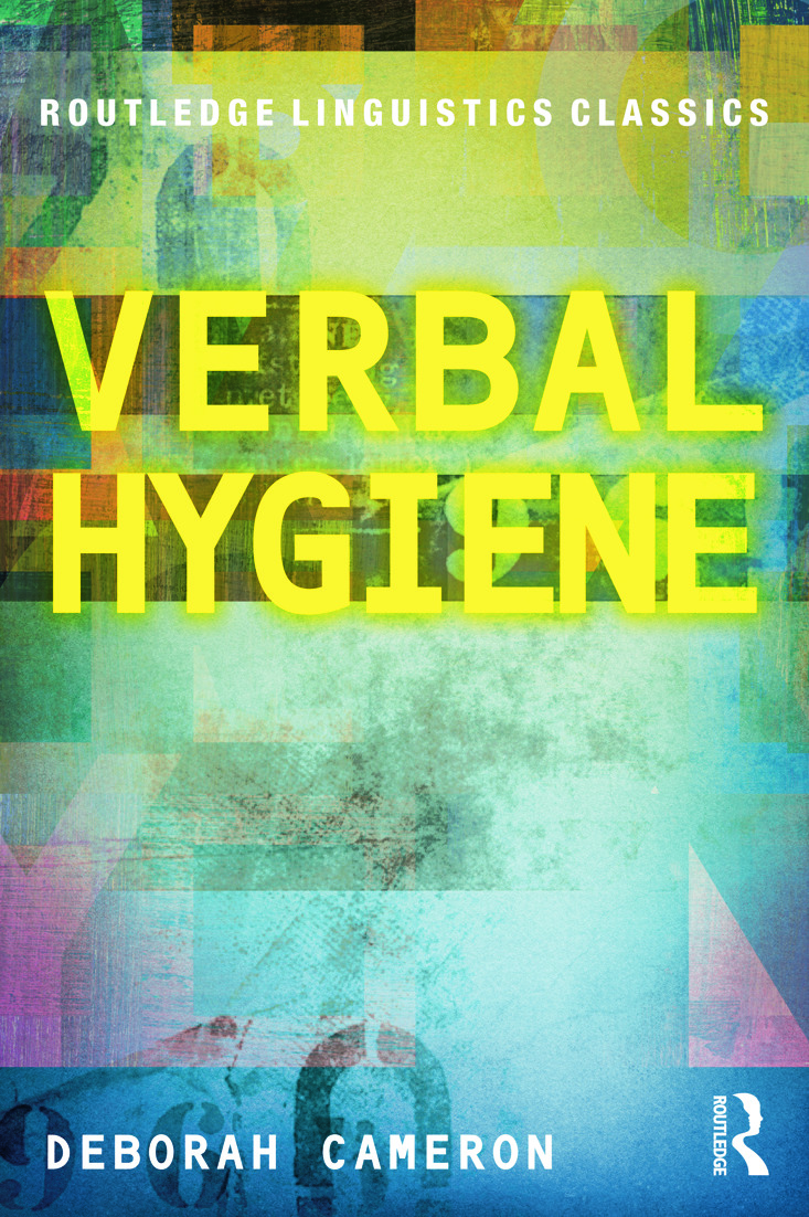 Verbal Hygiene: 1st Edition (Paperback) book cover